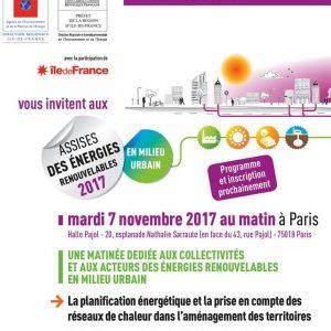 Assises des énergies renouvelables @ Halle Pajol  | Paris-18E-Arrondissement | Île-de-France | France