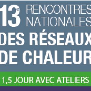 13e Rencontres nationales des réseaux de chaleur @ Espace Saint-Martin