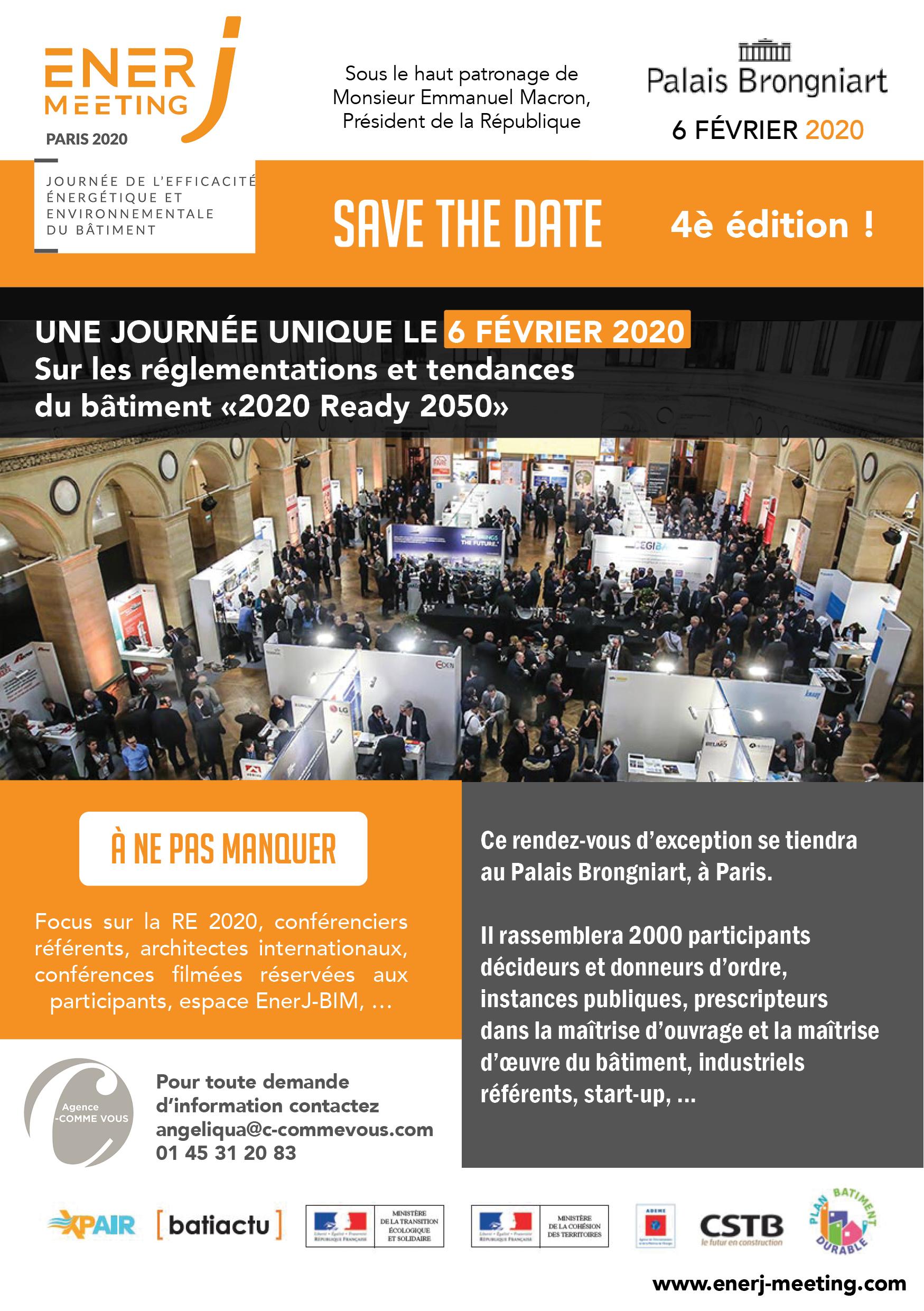 Enerjmeeting Paris - journée de l'efficacité énergétique