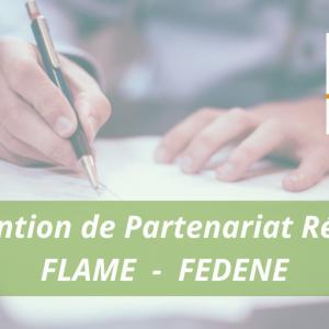 [PARTENARIAT] Signature d'une convention de partenariat entre FLAME et FEDENE @ Visio-conférence